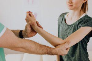 Visiting an Osteopath