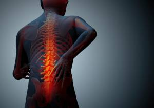 back pain illustrated